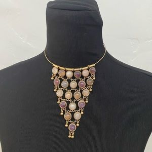 FREE PEOPLE STATEMENT NECKLACE NECK PIECE